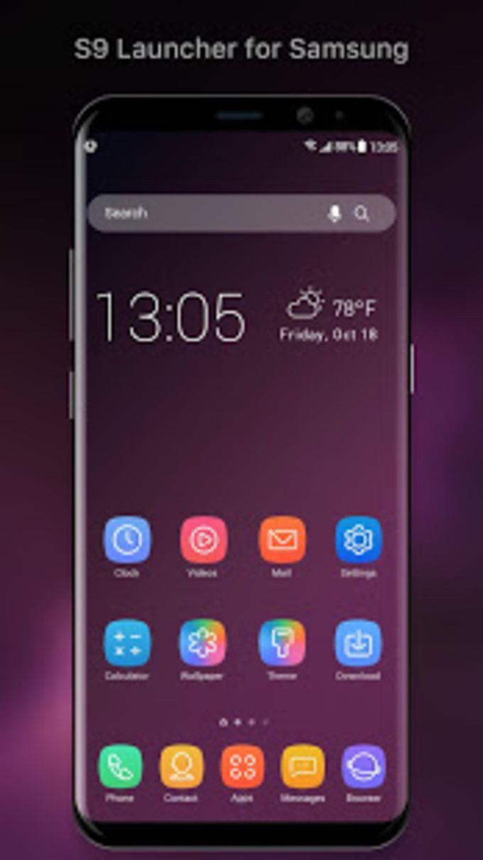 S9 Galaxy Launcher for Samsung