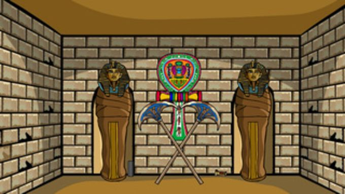 858 Escape From Egyptian Temple