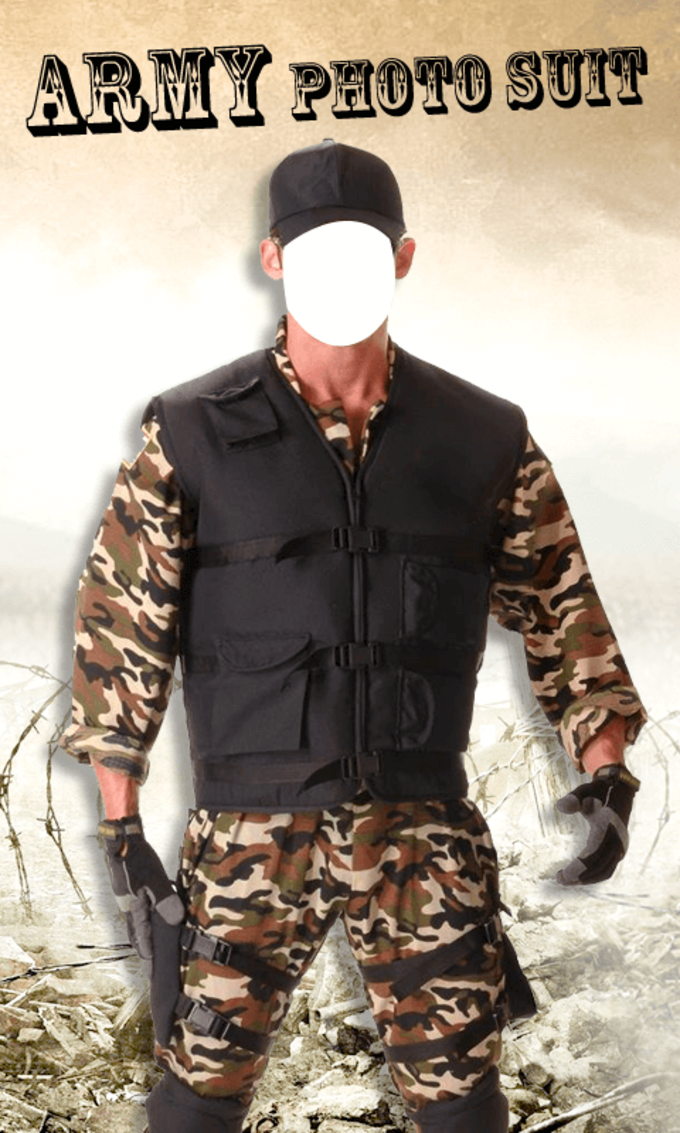 Army Photo Suit New