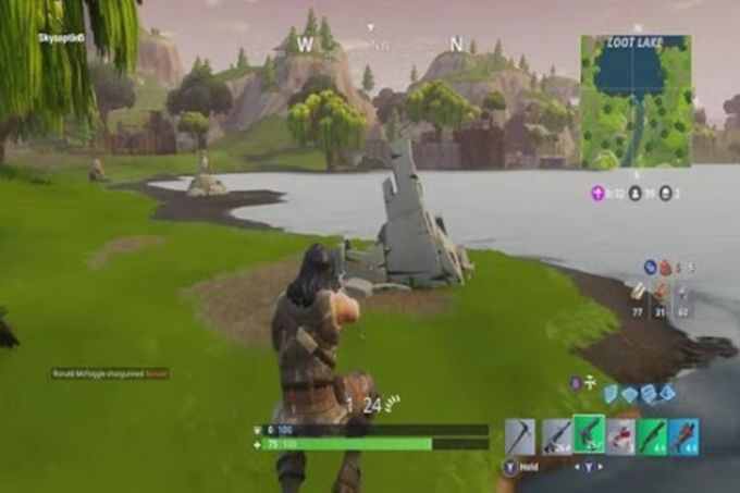 Fortnite Battle Royale Trick