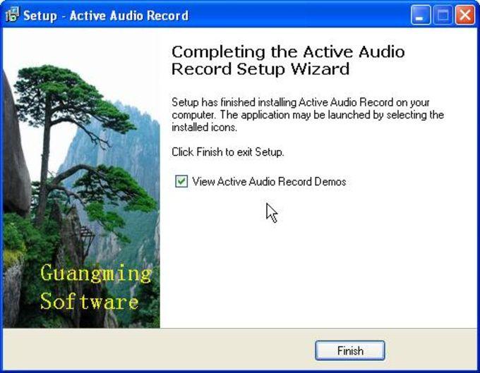 Active Audio Record Component