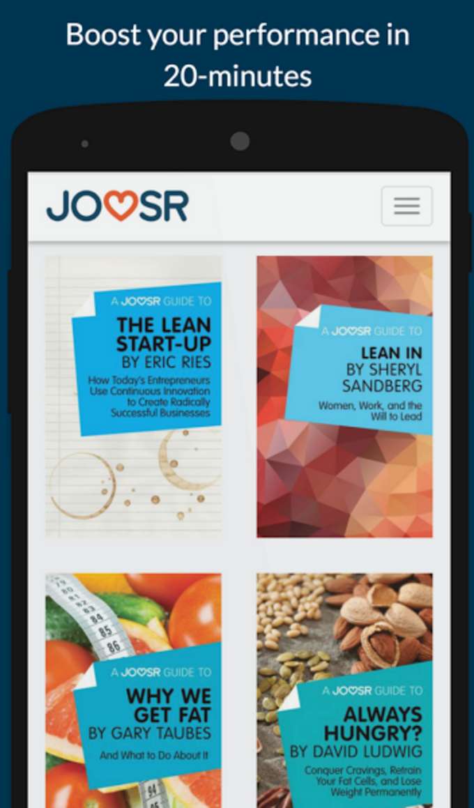 Joosr Book Summaries: the new way to learn