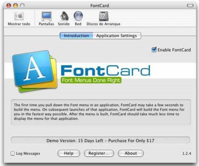 FontCard