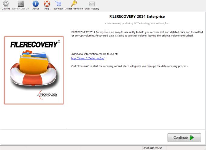 FILERECOVERY 2016 Enterprise (Mac)