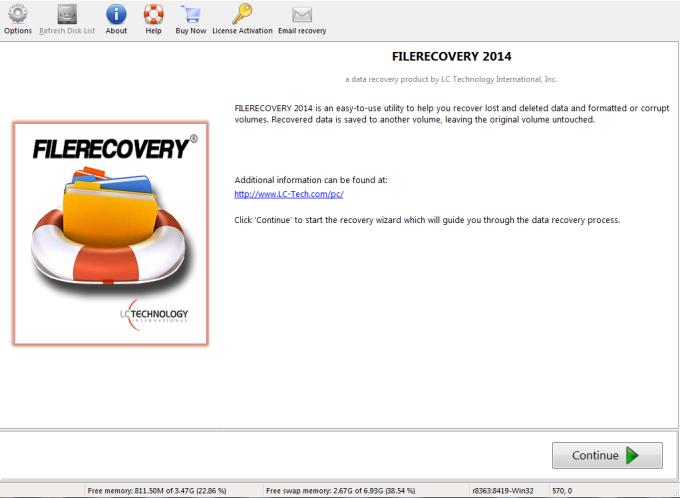 FILERECOVERY 2016 Standard (Mac)