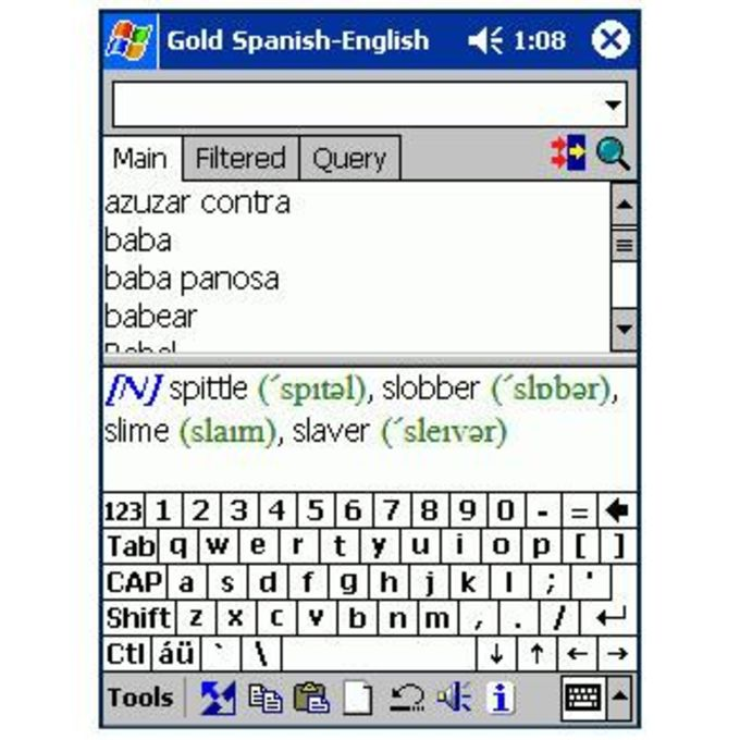 LingvoSoft Basic Talking Dictionary English-Spanish-English