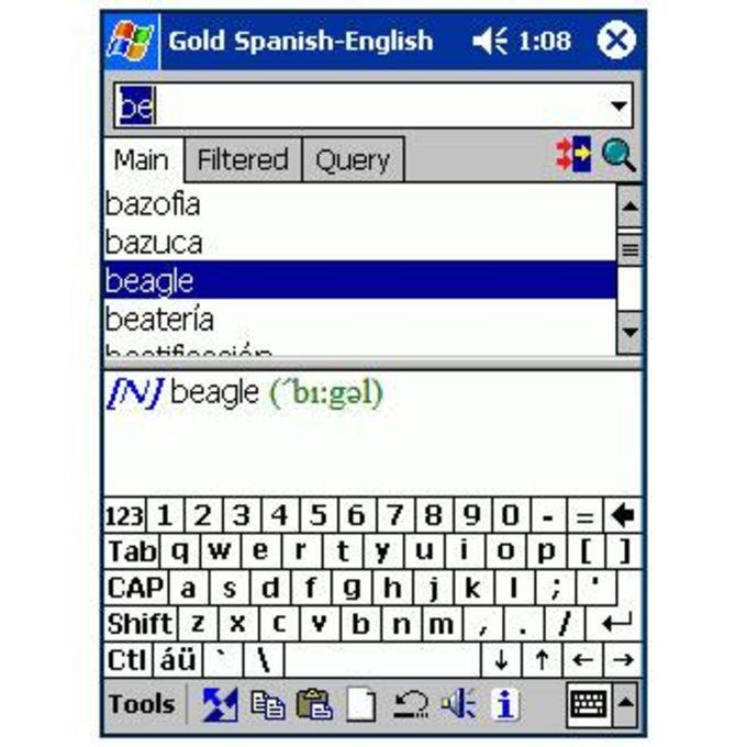LingvoSoft Standard Talking Dictionary English-Spanish-English
