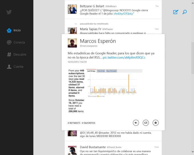 Twitter für Windows 10