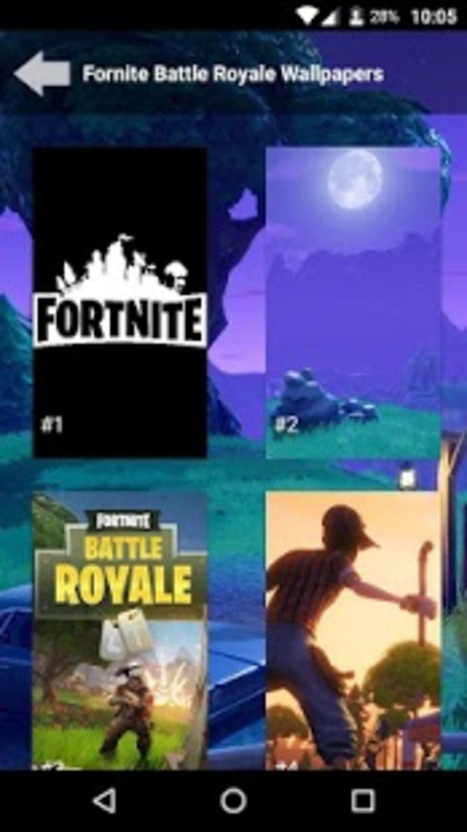 Fortnite Battle Royale Wallpapers for Android