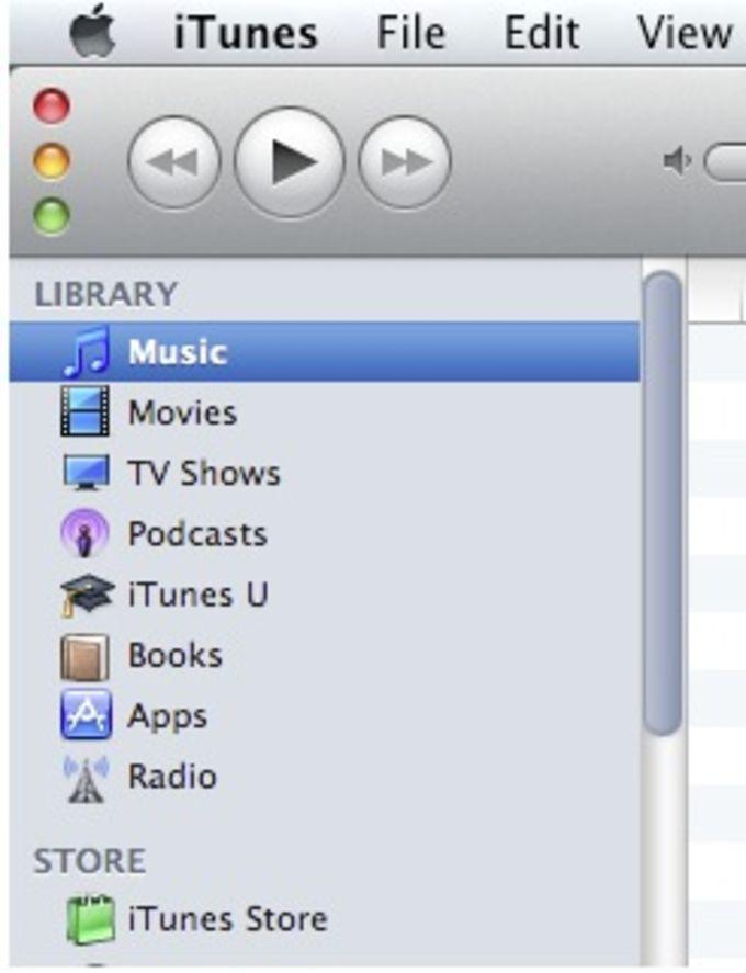 iTunes 10 UI Overhaul