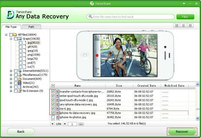 Tenorshare Free Any Data Recovery