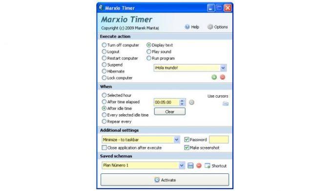 Marxio Timer