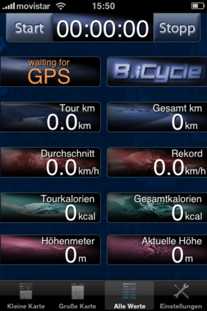 B.iCycle - GPS Fahrradcomputer