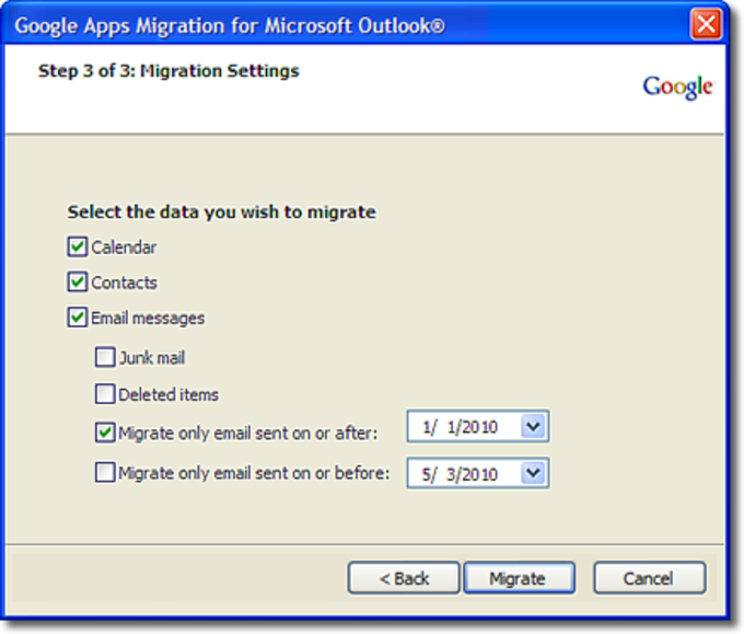 Google Apps Migration