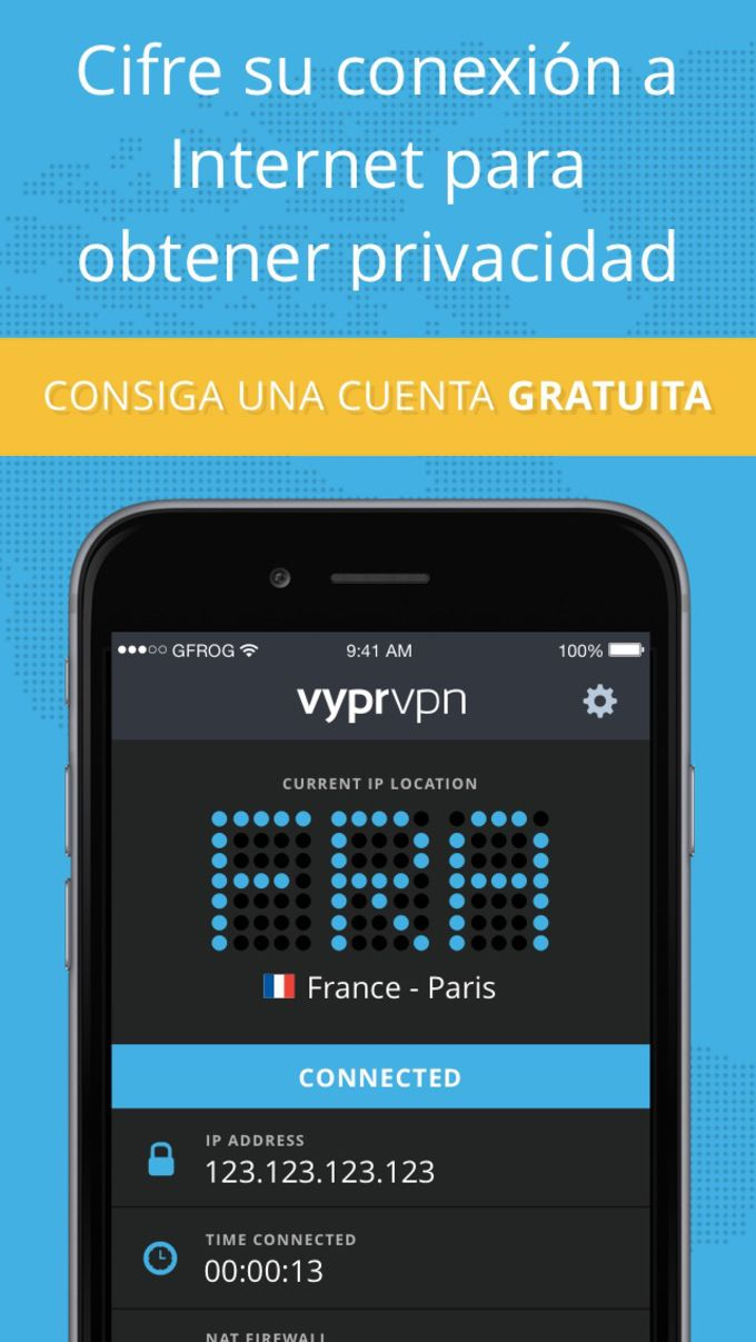 VyprVPN - Servicio VPN gratuito