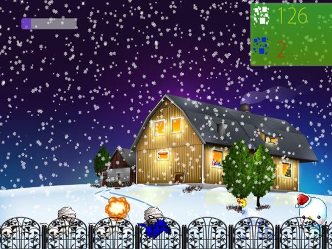 Snowman Attack 2