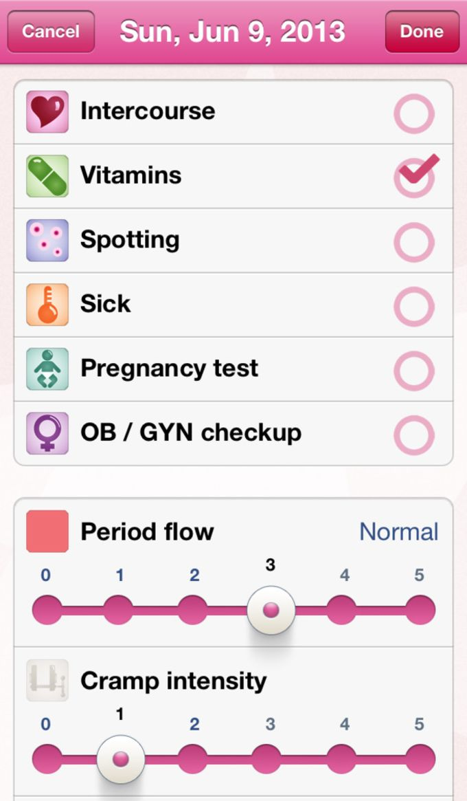 Period Plus (Menstrual, Fertile & Ovulation Calendar)