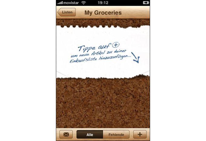 Groceries (Einkäufe)