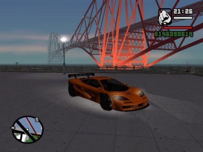 GTA San Andreas Pack of Cars
