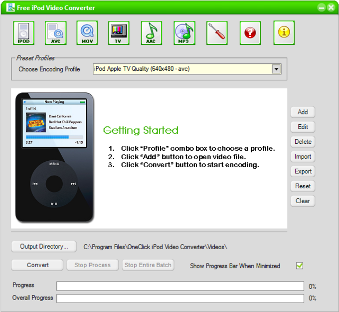 OneClick iPod Video Converter