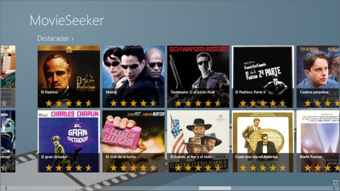 MovieSeeker for Windows 10