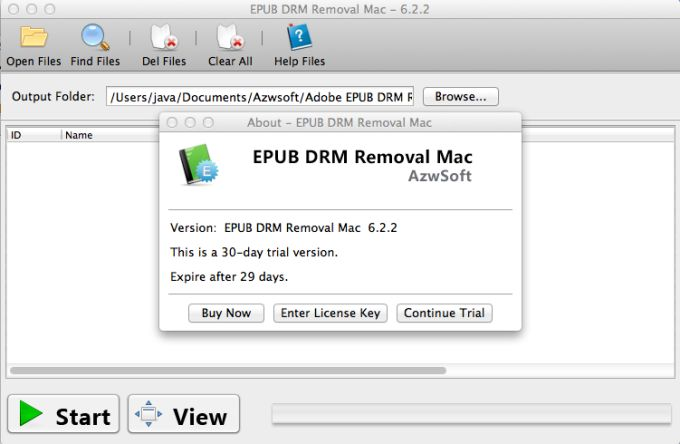 EPUB DRM Removal Mac