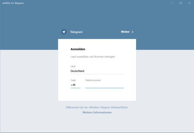 EasyChat for Telegram