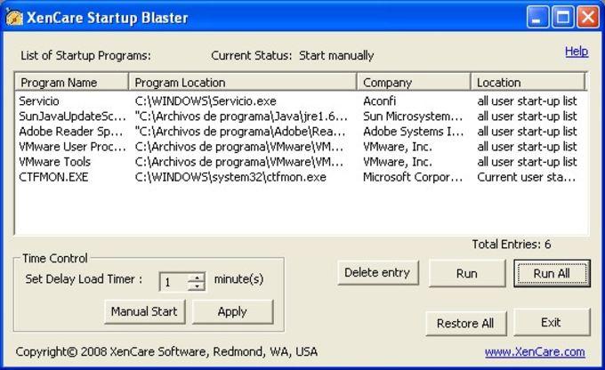 Startup Blaster