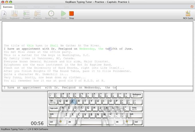 KeyBlaze Free Mac Typing Tutor