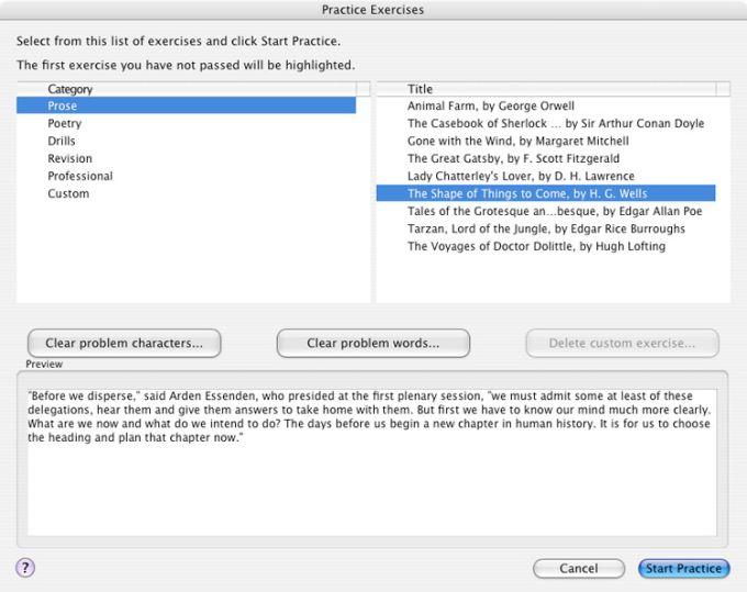 KeyBlaze Typing Tutor For Mac