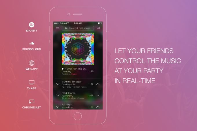 OutLoud Social Jukebox