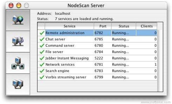 NodeScan Server