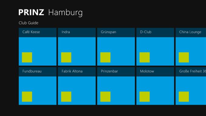 PRINZ Cityguide für Windows 10