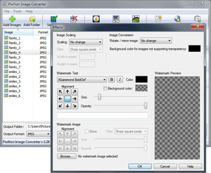 Pixillion Plus Image Converter