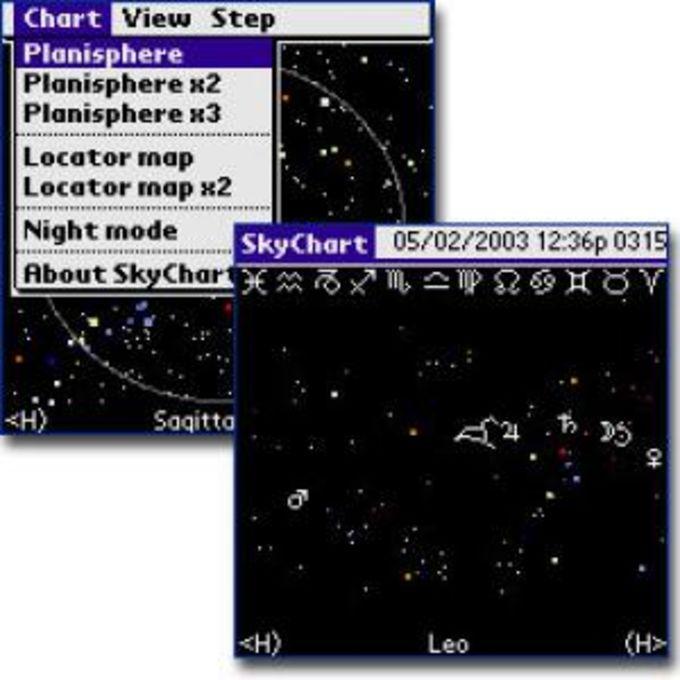 SkyChart 2003