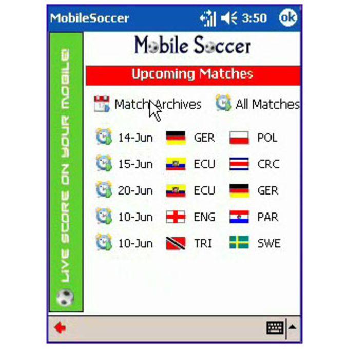 Mobile Soccer Live