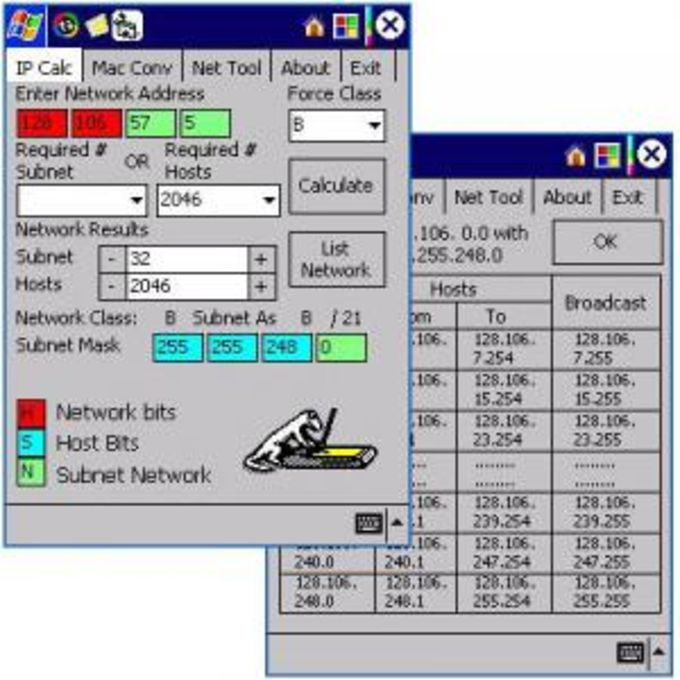 Newton IP Calculator