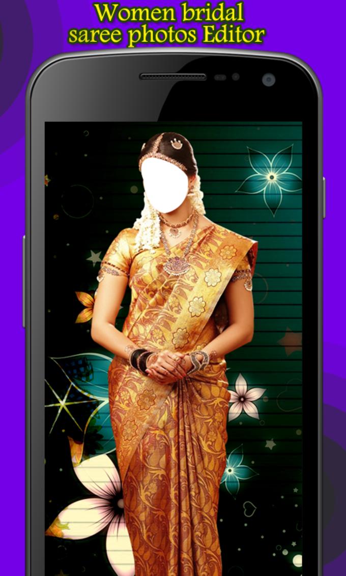 Women Bridal Saree Photo Editor