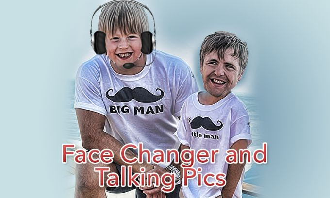 Talking Pictures Face Changer