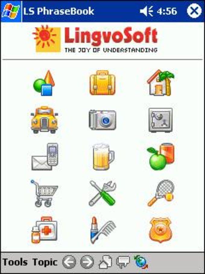 LingvoSoft English-Arabic Talking PhraseBook