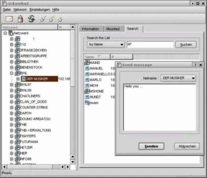 Komba2 KDE3