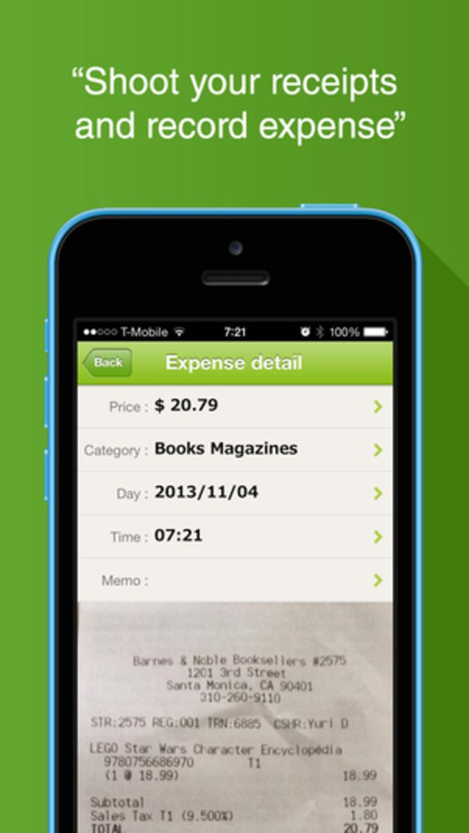 """""""Quick Money Recorder Premium"""" Simple but Smart Money Tracker for Personal Finance and Budget management"""