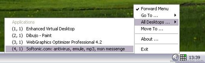 Enhanced Virtual Desktop