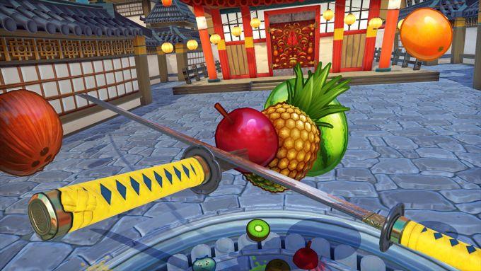 Fruit Ninja PS VR PS4