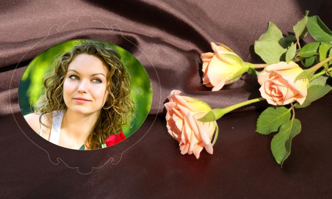 Rose Flower Selfie Editor
