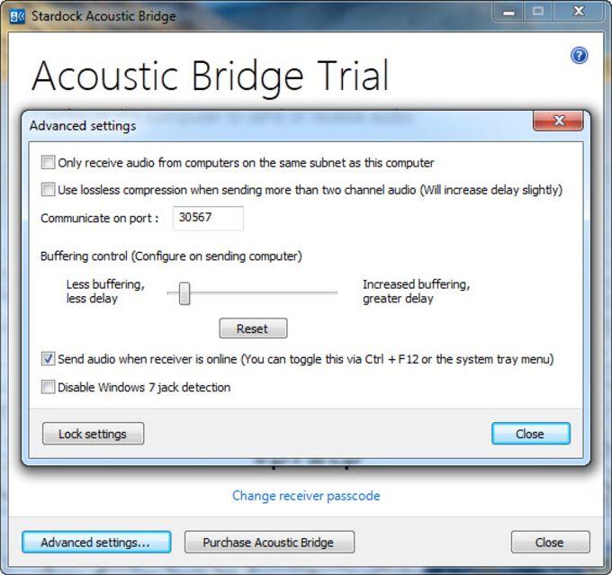 Accoustic Bridge