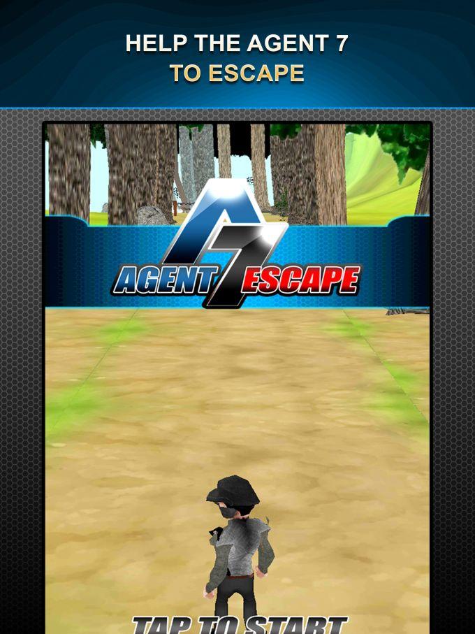Agent 7 Escape-Jungle Run