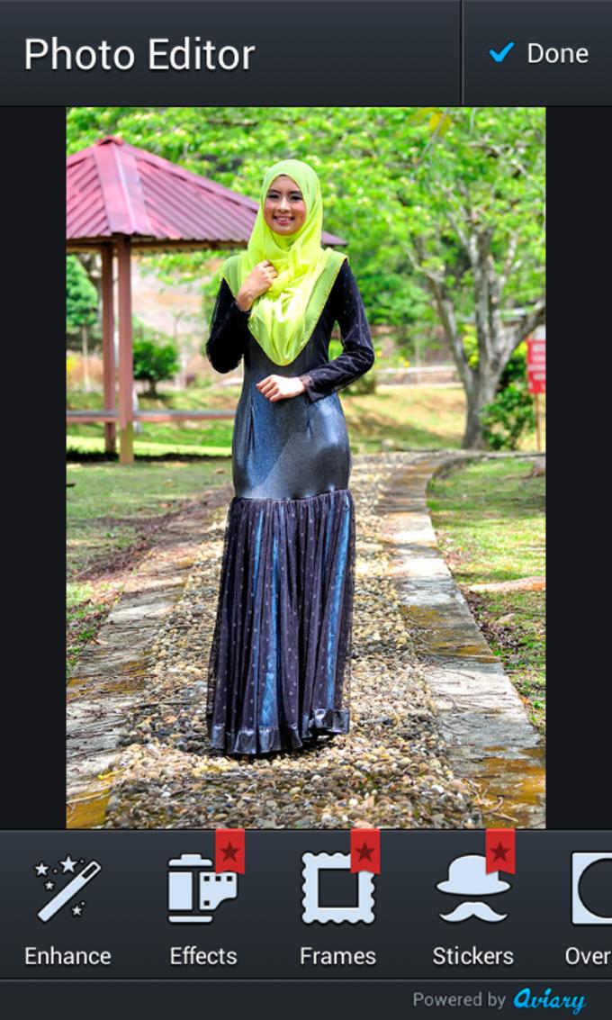 Hijab Fashion Photo Maker