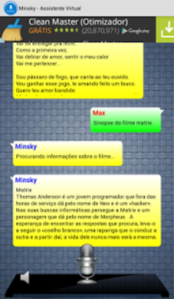 Minsky - Assistente Virtual