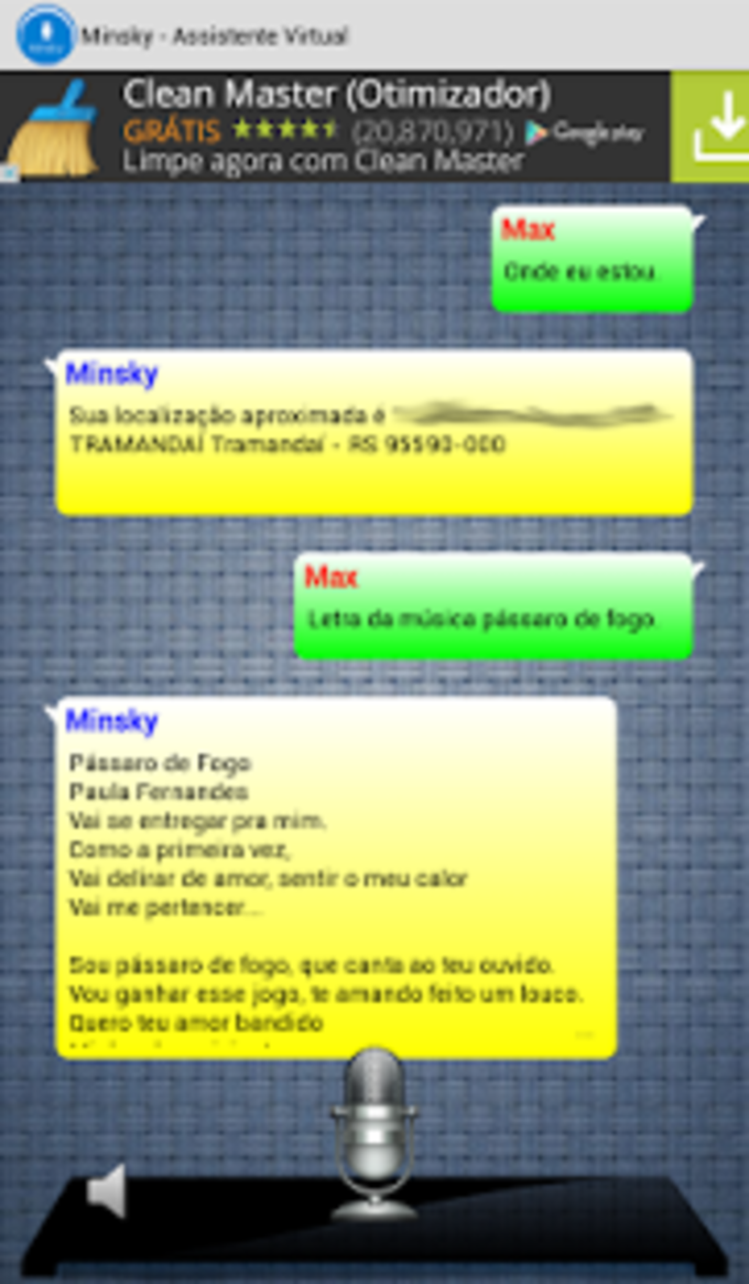 Minsky - Assistente Virtual